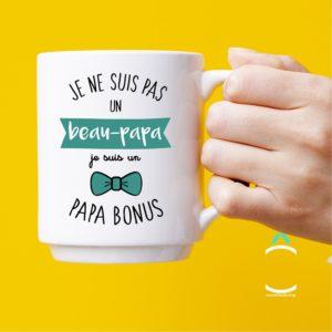 Mug – Je ne suis pas un beau-papa. Je suis une papa bonus