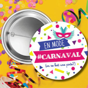 Badge – En mode carnaval