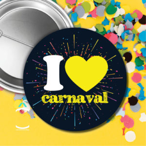 Badge – I love carnaval