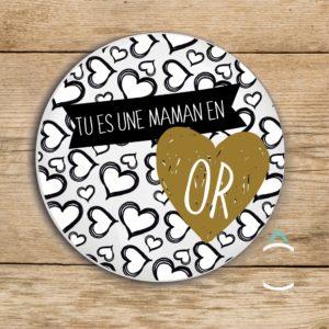 Magnet – Maman en or