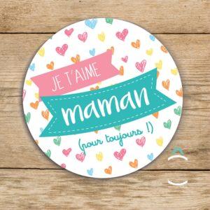 Magnet – Je t'aime maman (pour toujours!)