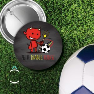 Badge – Petit diable rouge