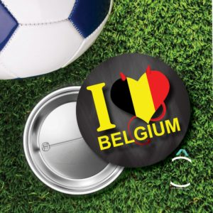 Badge – I love Belgium