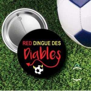 Badge – Red dingue des diables