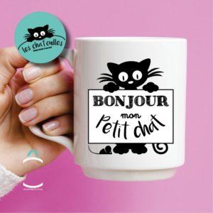 Mug – Bonjour mon petit chat