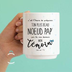 Mug – C'est l'heure de préparer ton plus beau nœud pap'