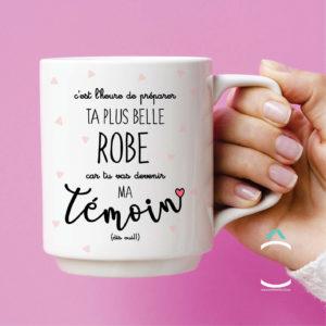 Mug – C'est l'heure de préparer ta plus belle robe
