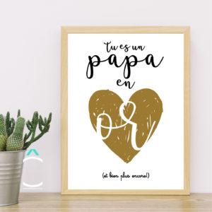 Cadre – Tu es un papa en or