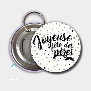 Porte-clés décapsuleur – Joyeuse fête des pères