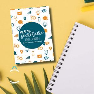 Carte postale – Mon secrétaire excel en word