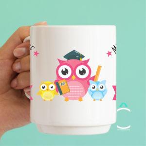 Mug – Merci d'être une instit super chouette