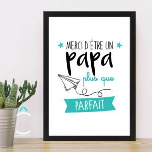 Cadre – Merci d'être un papa plus que parfait