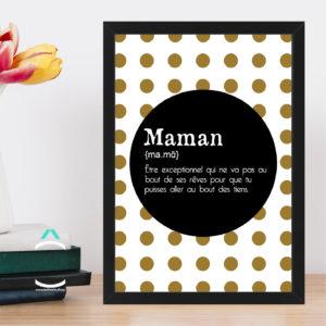 Cadre – Maman: définition