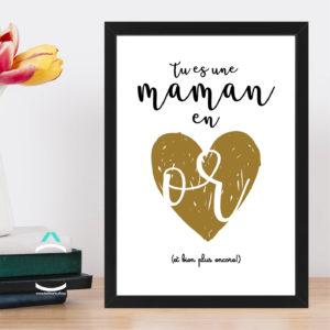 Cadre – Tu es une maman en or