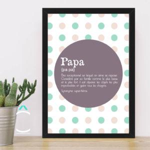 Cadre – Papa: définition