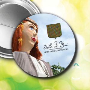Badge – Belle de Mai