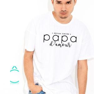 T-shirt – Papa d'amour