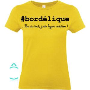 T-shirt – #bordélique …pas du tout, juste hyper créative!