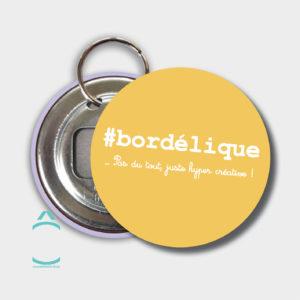 Porte-clés – #bordélique …pas du tout, juste hyper créative!