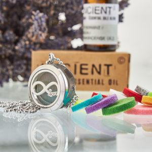Collier Diffuseur Aromathérapie – Infini
