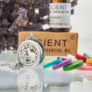 Collier Diffuseur Aromathérapie – Chat