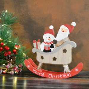 Noël – Père Noël en bois