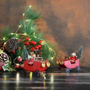 Noël – Renne de Noël en voiture
