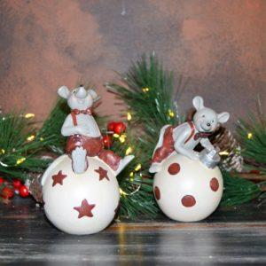 Noël – Souris de Noël (lot de 2)