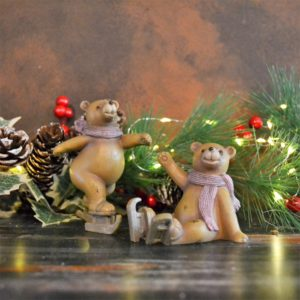 Noël – Oursons (lot de 2)