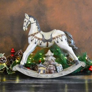 Noël – Cheval à bascule