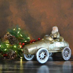 Noël – Père Noël en voiture