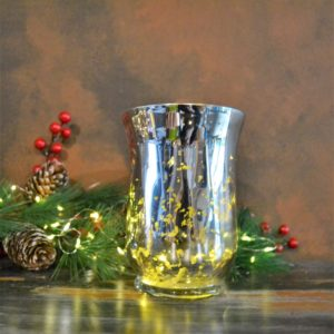Noël – Bougeoir en verre