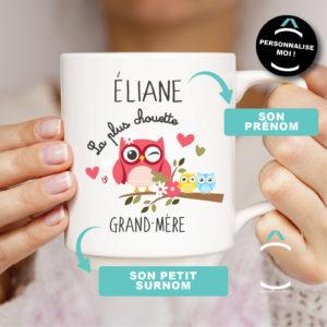 Mug personnalisable – La plus chouette
