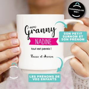 Mug personnalisable – Tout est permis!