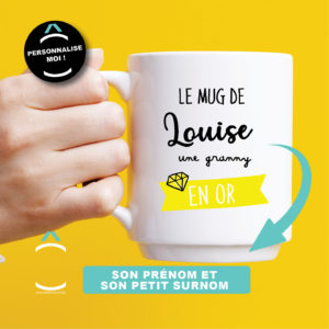 Mug personnalisable – Tu es en or