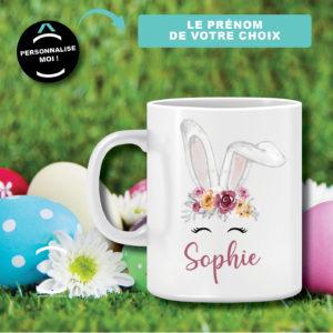 Mug personnalisable – Mademoiselle Pâques