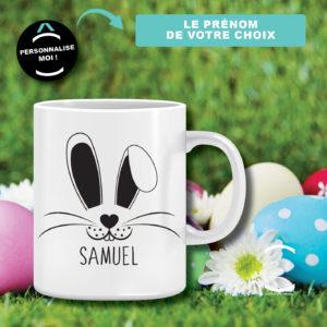 Mug personnalisable – Lapin