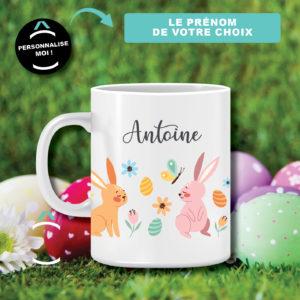 Mug personnalisable – Lapins