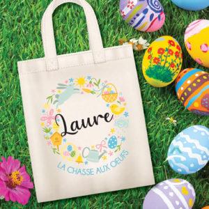 Tote-bag personnalisé – Pâques