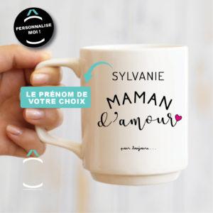 Mug personnalisable – Maman d'amour