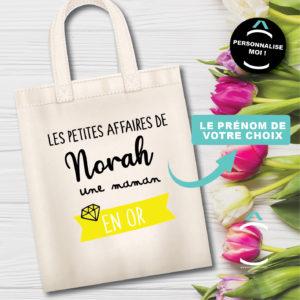 Tote-bag personnalisé – Les petites affaires de