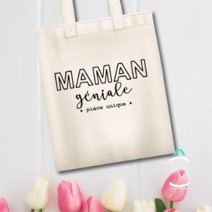 Tote-bag – Maman géniale