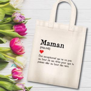 Tote-bag – Maman: définition