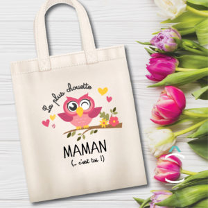Tote-bag – La plus chouette maman