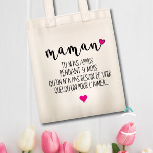 Tote-bag – Maman, tu m'as appris