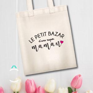 Tote-bag – Le petit bazar d'une super maman