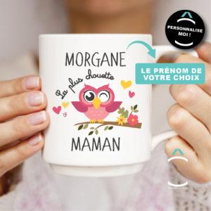Mug personnalisable – La plus chouette maman