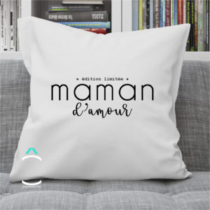 Coussin – Maman d'amour