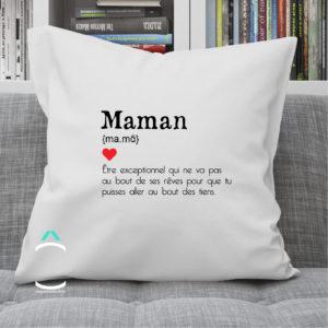 Coussin – Maman: définition