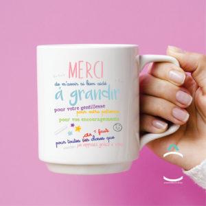 Mug – Merci de m'avoir si bien aidé à grandir